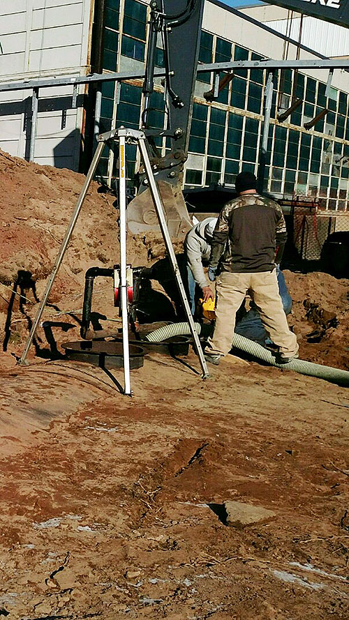 Cleaning and removal of Underground Storage Tank | Aaron Environmental Services Northeast located in Plantsville CT