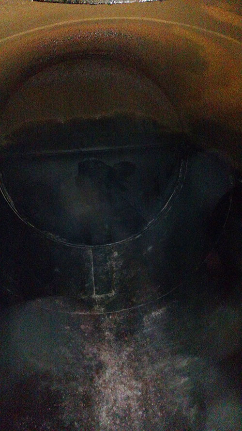 Cleaning and removal of Underground Storage Tank | Aaron Environmental Plantsville CT