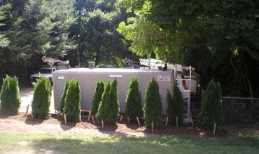 Aboveground fuel storage tank installation | Aaron Environmental Services Plantsville CT